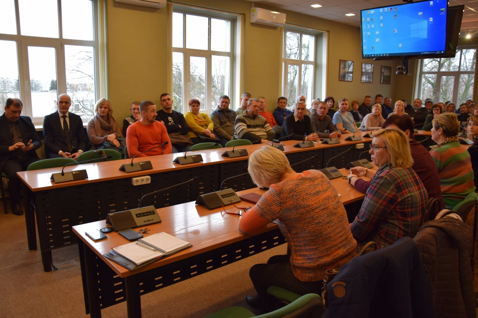 Vilkaviškio rajono savivaldybėje vyko seniūnaičių susitikimas