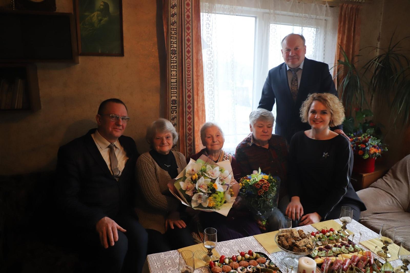 Pirmoji šiais metais Kauno rajone 100 metų jubiliejų švenčia Marijona Juočienė