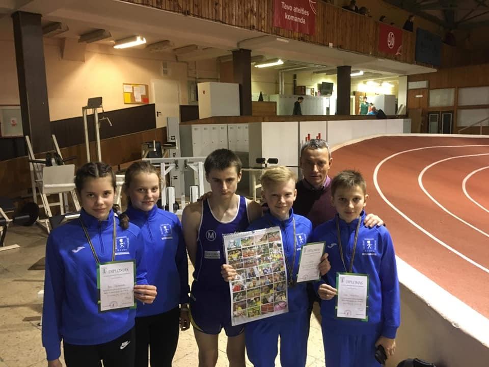 Švenčionių rajono sportininkai Lietuvos lengvosios atletikos jaunimo ir jaunių rajonų čempionate