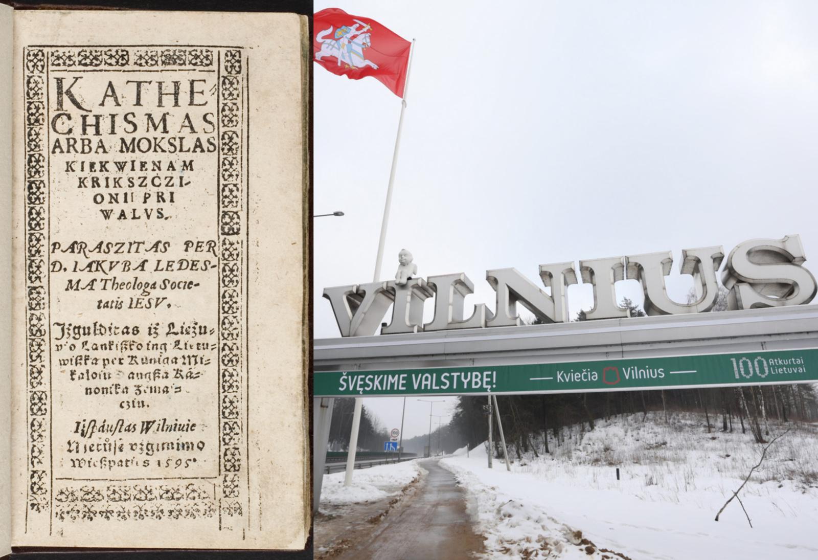 Vilniaus gimtadienio išvakarėse atidaromoje parodoje – pirmąkart lietuviškai užrašytas Vilniaus vardas