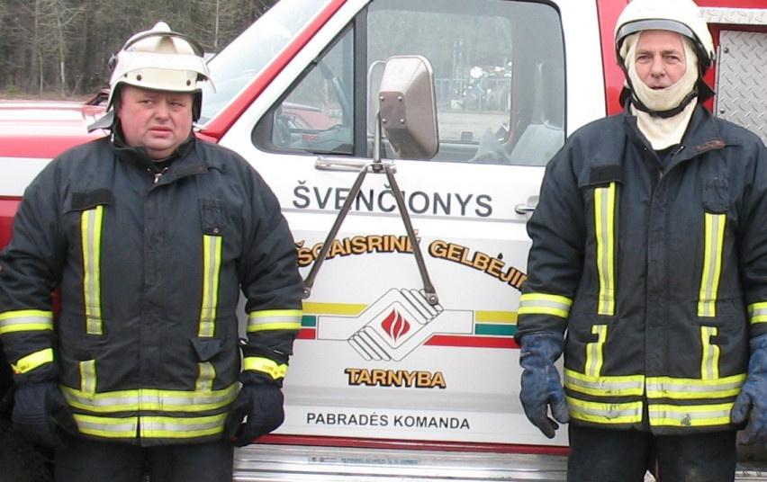 Pabradėje gaisro metu išgelbėta žmogaus gyvybė