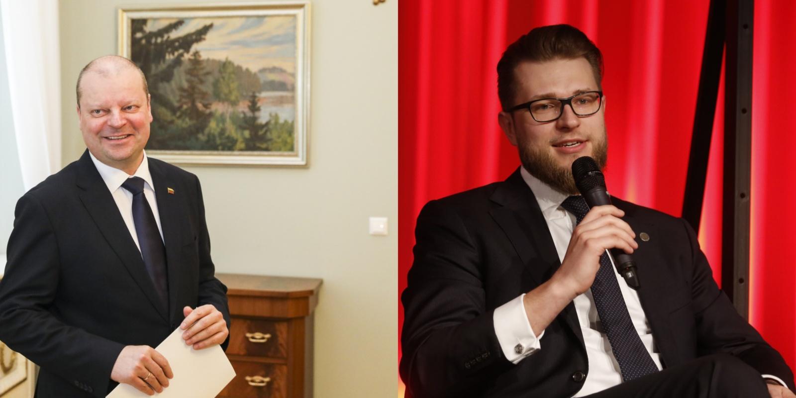 S. Skvernelis pateikė prezidentui L. Savicko kandidatūrą: alternatyvos nėra svarstomos