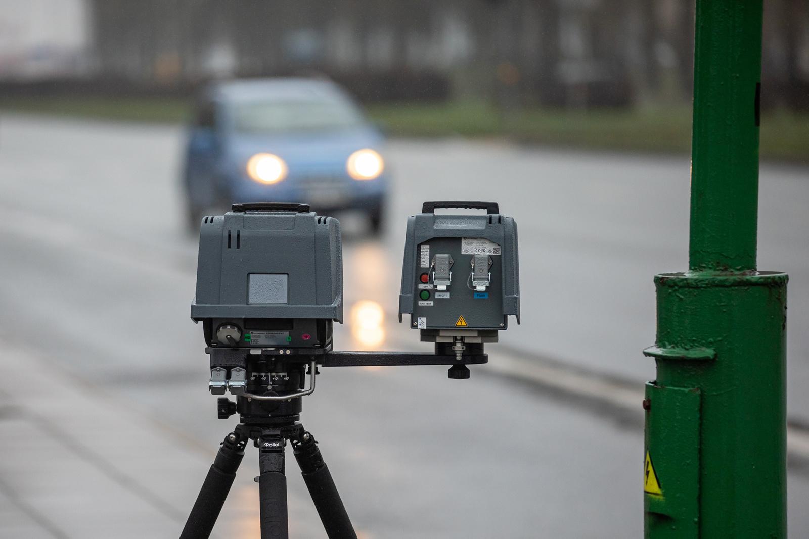 Klaipėdos apskrities Kelių policijos pareigūnai greičio kontrolės priemones vykdys avaringiausiuose kelių ruožuose