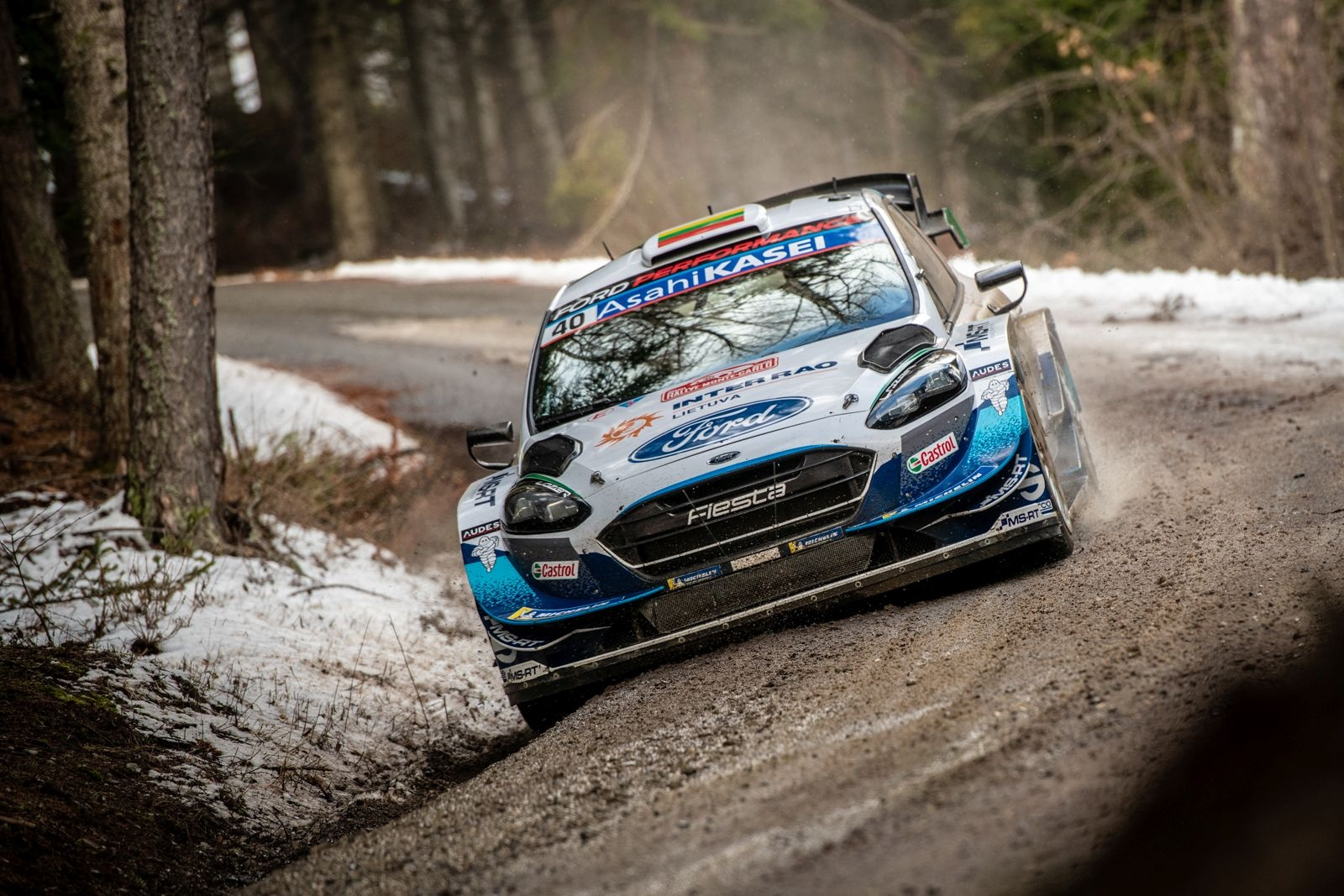 "Deividas Jocius po Monte Karlo WRC finišo: ""Mes tai padarėme!"""