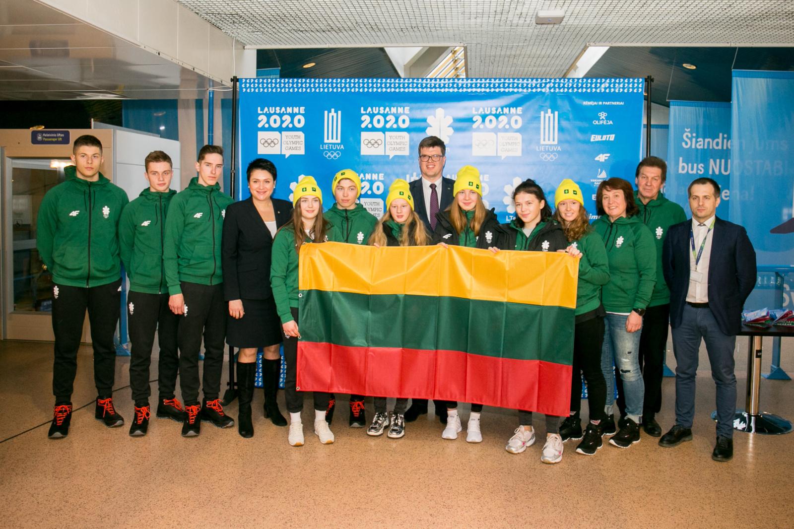 Ignalinos biatlonininkai dalyvavo Jaunimo žiemos olimpinės žaidynėse ir Pasaulio jaunimo čempionate