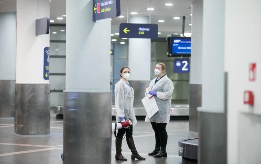 Lietuvos oro uostai nenaudos termovizorių koronavirusui aptikti