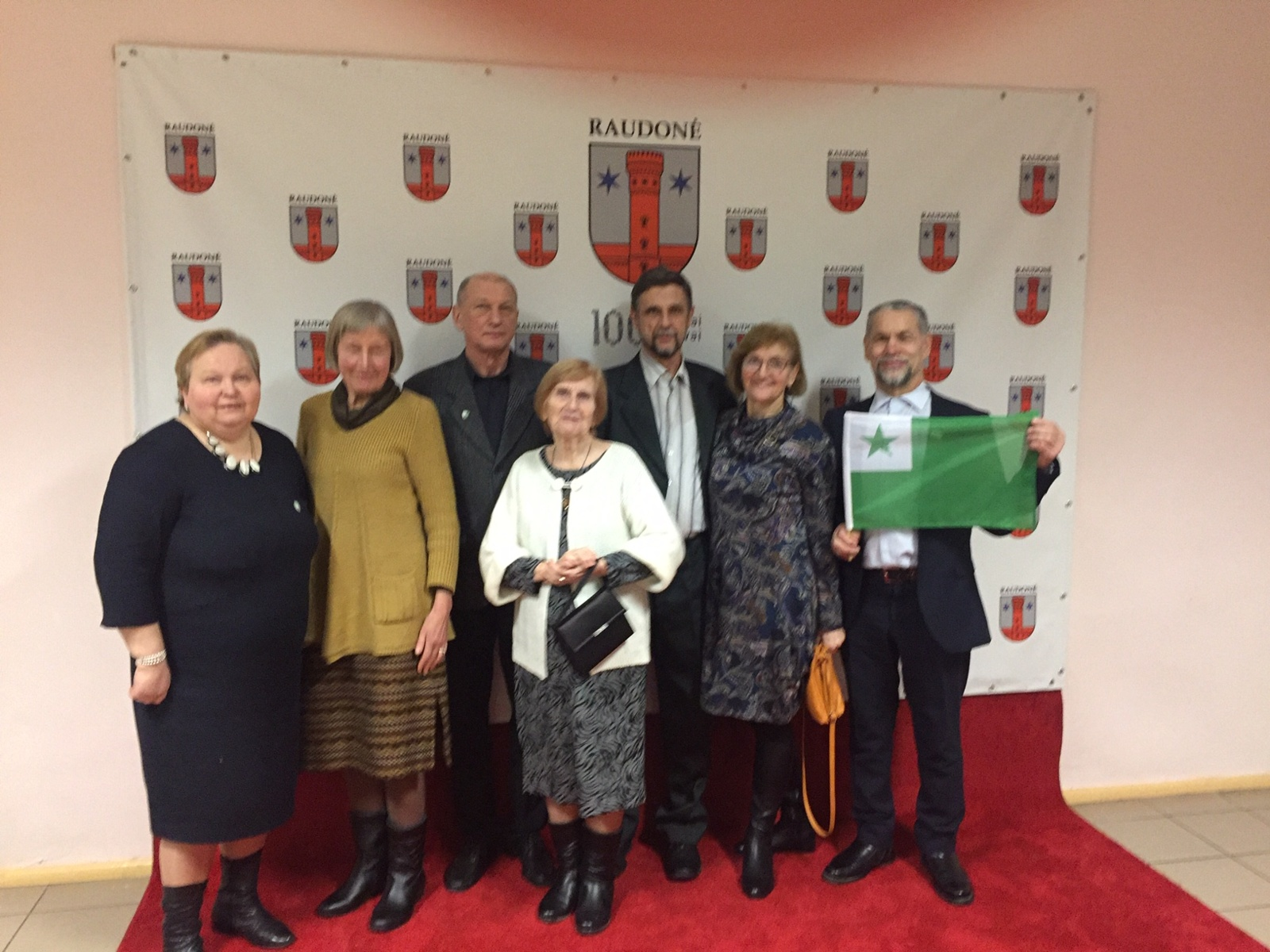 """Jurbarko esperanto klubas """"Horizontas"""" bendruomenių sueigoje"""