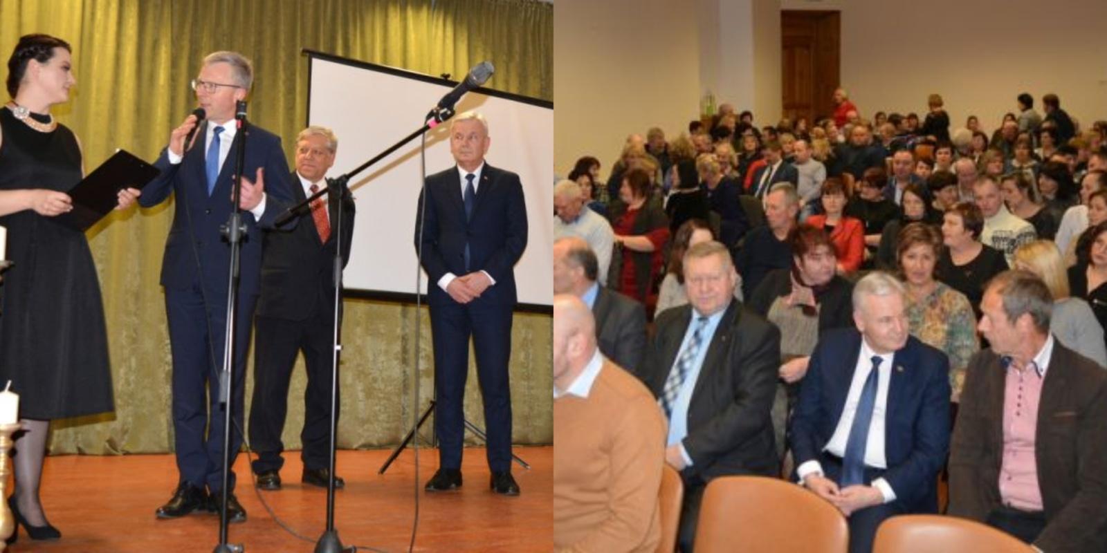 Jurbarkiečiai bendruomenių metus pradėjo sueiga