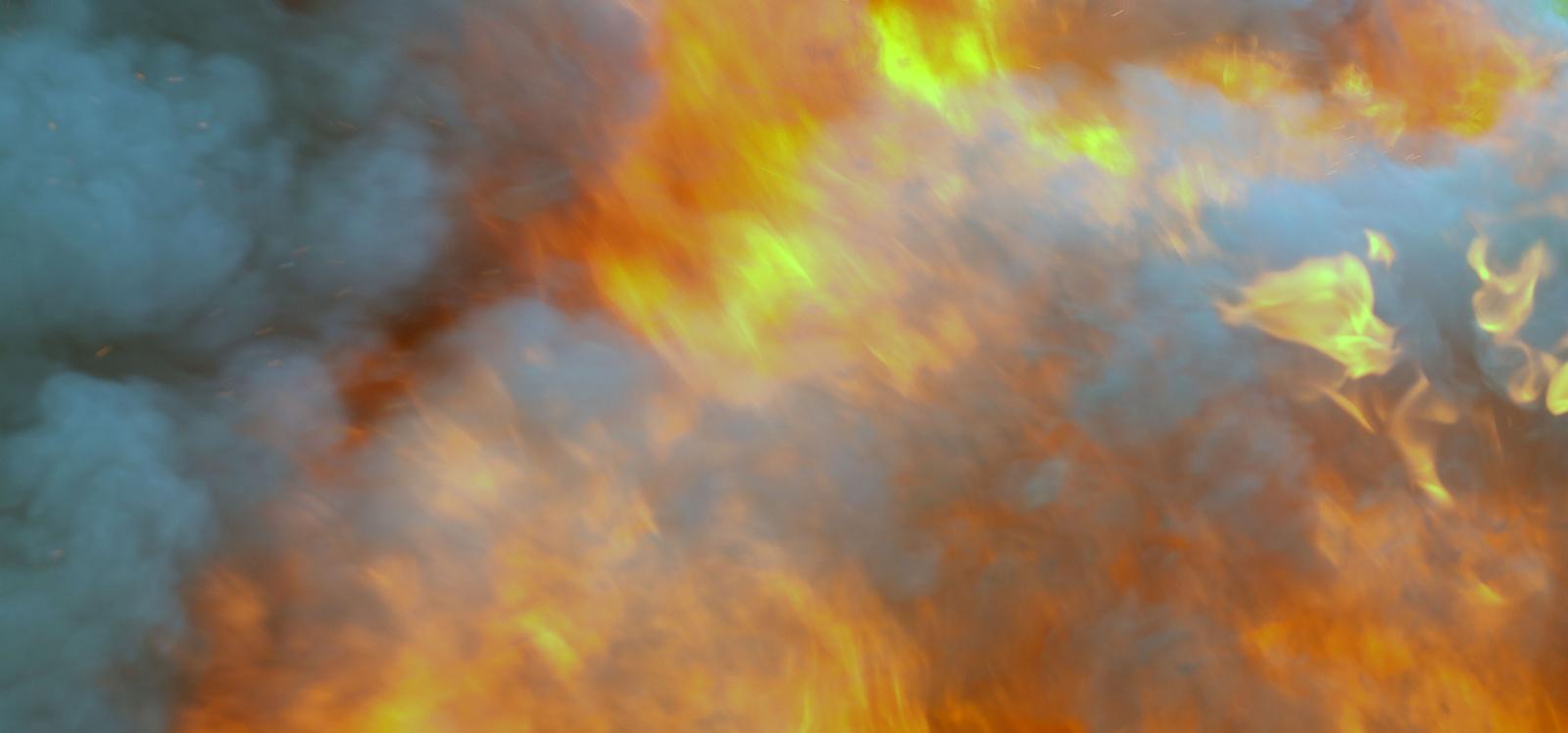 Mažeikių rajone degė ūkio technika