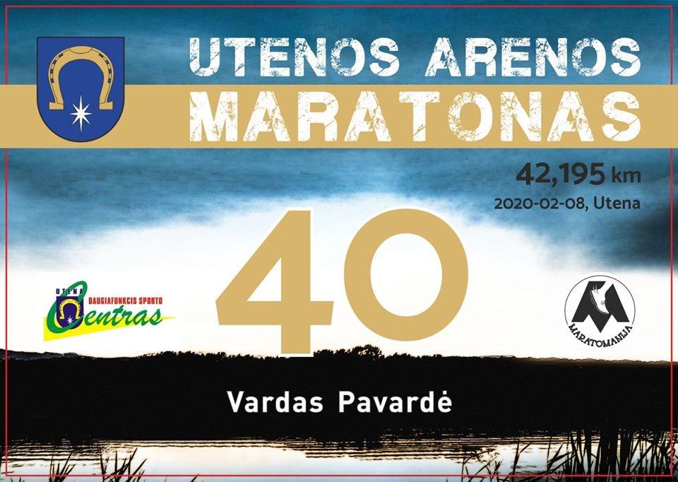 Utenoje – tarptautinis maratonas
