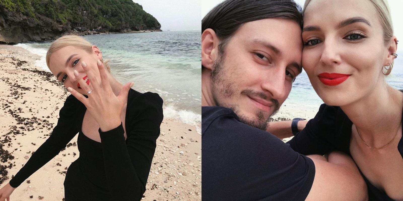 Susižadėjo modelis S. Burbaitė: mylimasis rankos paprašė egzotiškoje šalyje