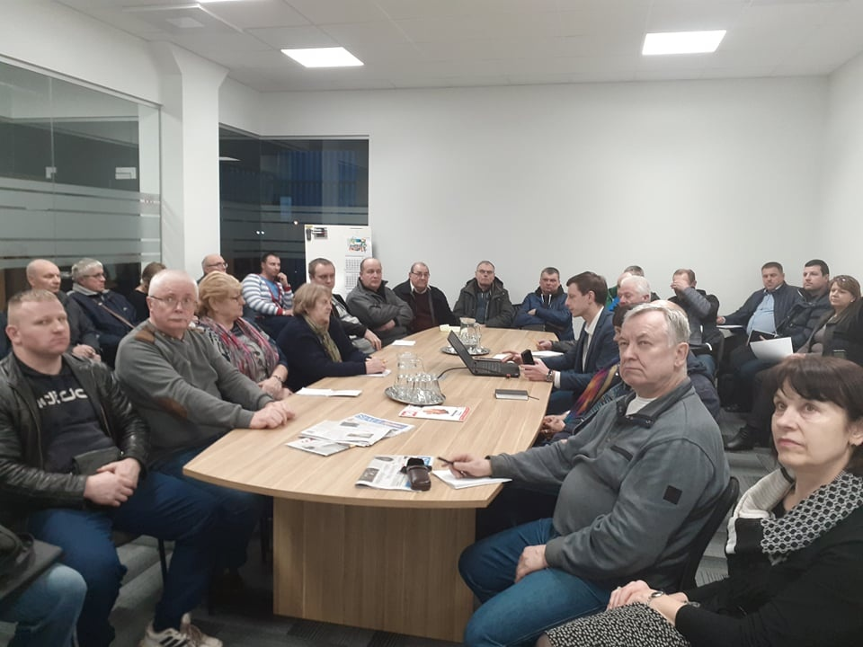 Šiaulių  m. garažų bendrijų pirmininkų susirinkimas