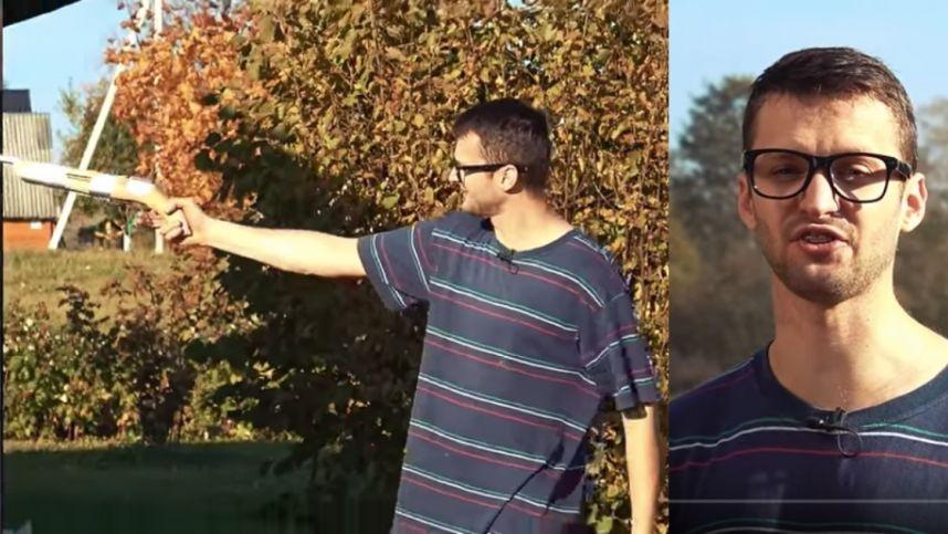 """""""YouTube"""" žvaigždės Whydoto poelgis atkreipė užsienio žiniasklaidos dėmesį: vos neprarado rankos"""