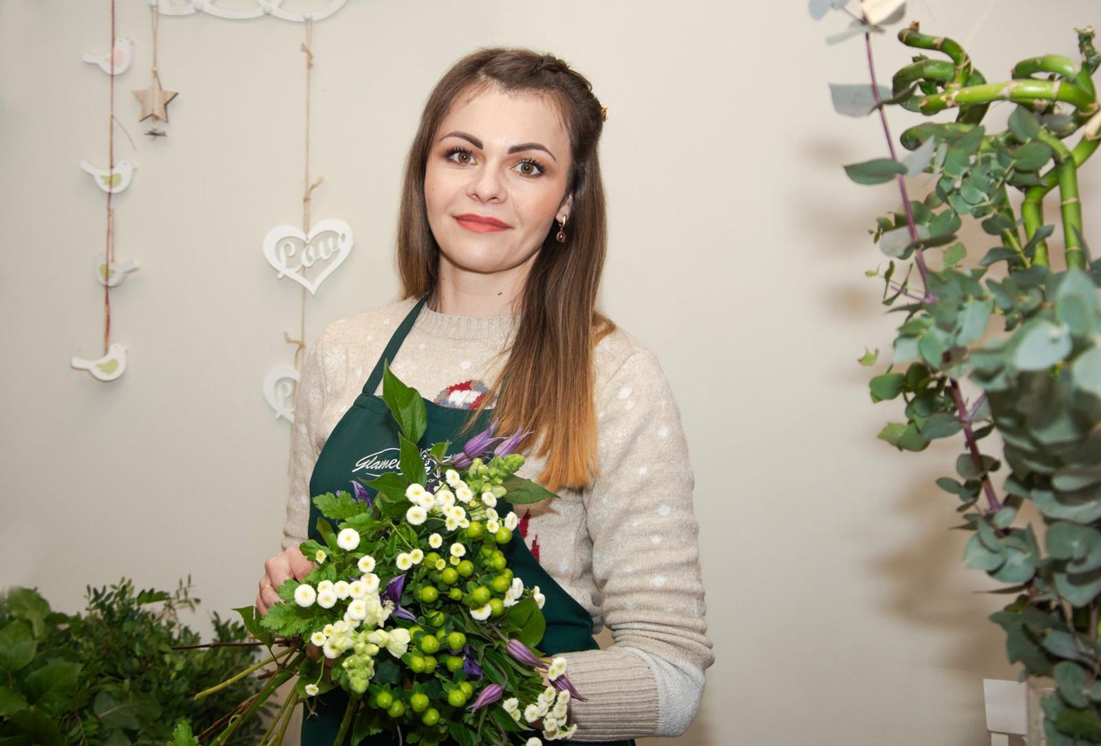 Išradingoji Liudmila Jankoit – savo pašaukimą atradusi floristikoje gėrį skleidžia kitiems