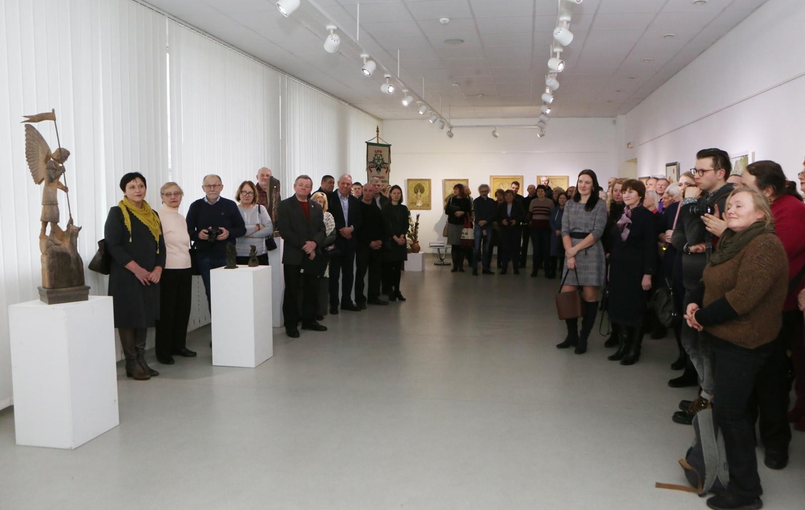 Kultūros centre – rajono tautodailininkų darbų paroda