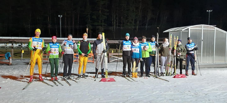 Lietuvos žiemos sporto centre vyko Ignalinos rajono įstaigų slidinėjimo varžybos