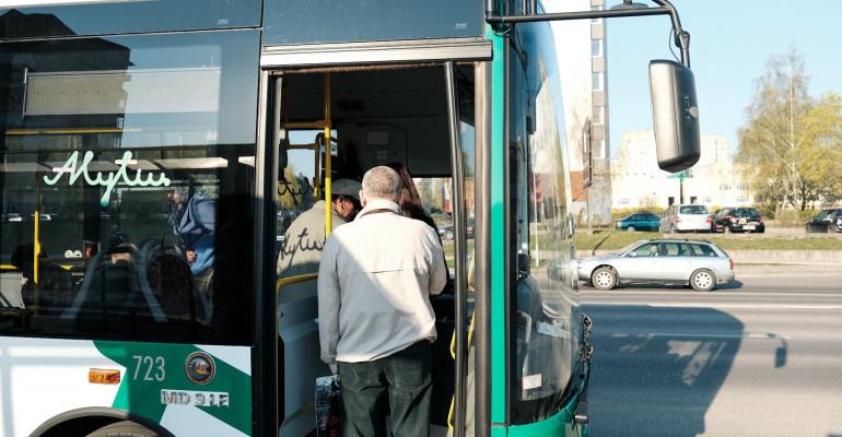 Alytaus miesto autobusai – per 2019 metus 208 tūkstančiais daugiau kelionių