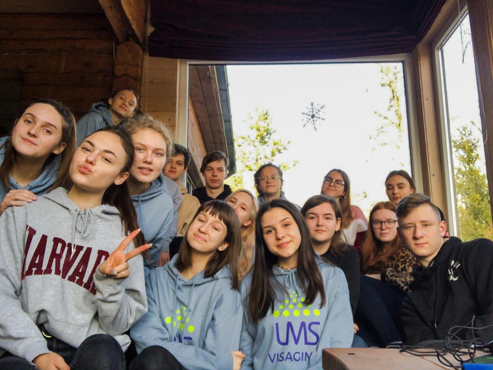 LMS Visagino padalinio savanoriai dalijosi patirtimi
