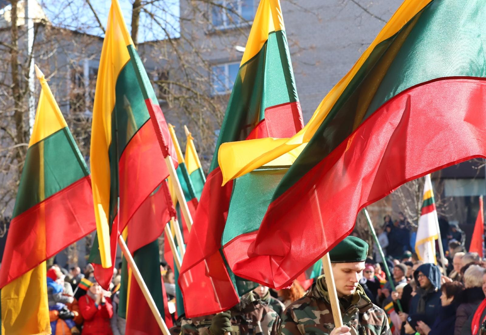 Šiaulių meras sveikina Lietuvos valstybės atkūrimo dienos proga