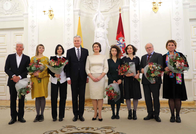 Prezidentūroje pagerbti naujieji Lietuvos kultūros signatarai