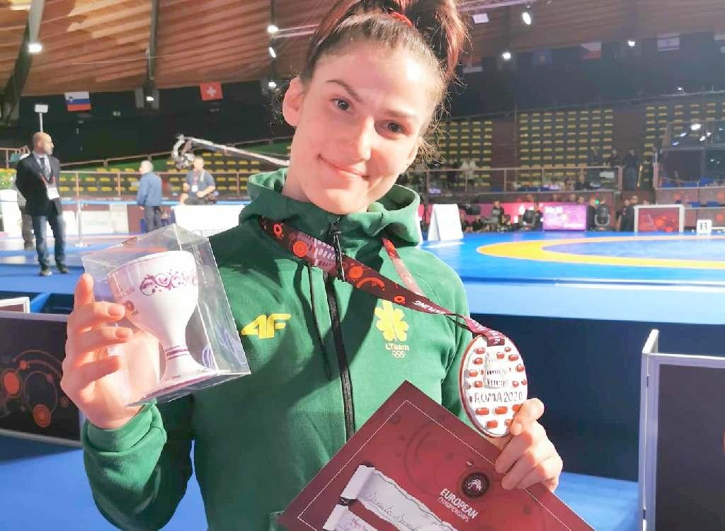 Europos čempionato bronzos medalis keliauja į Šiaulius