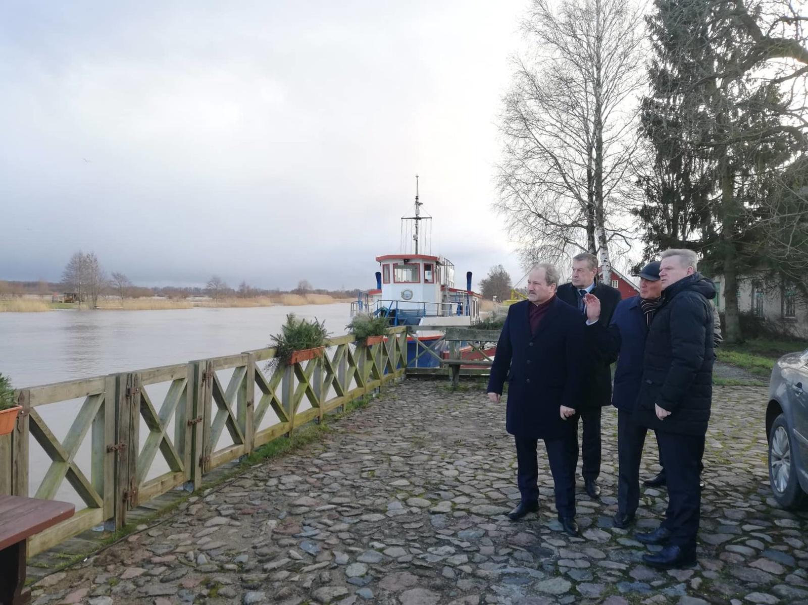 Šilutėje lankėsi Susisiekimo ministras Jaroslavas Narkevičius