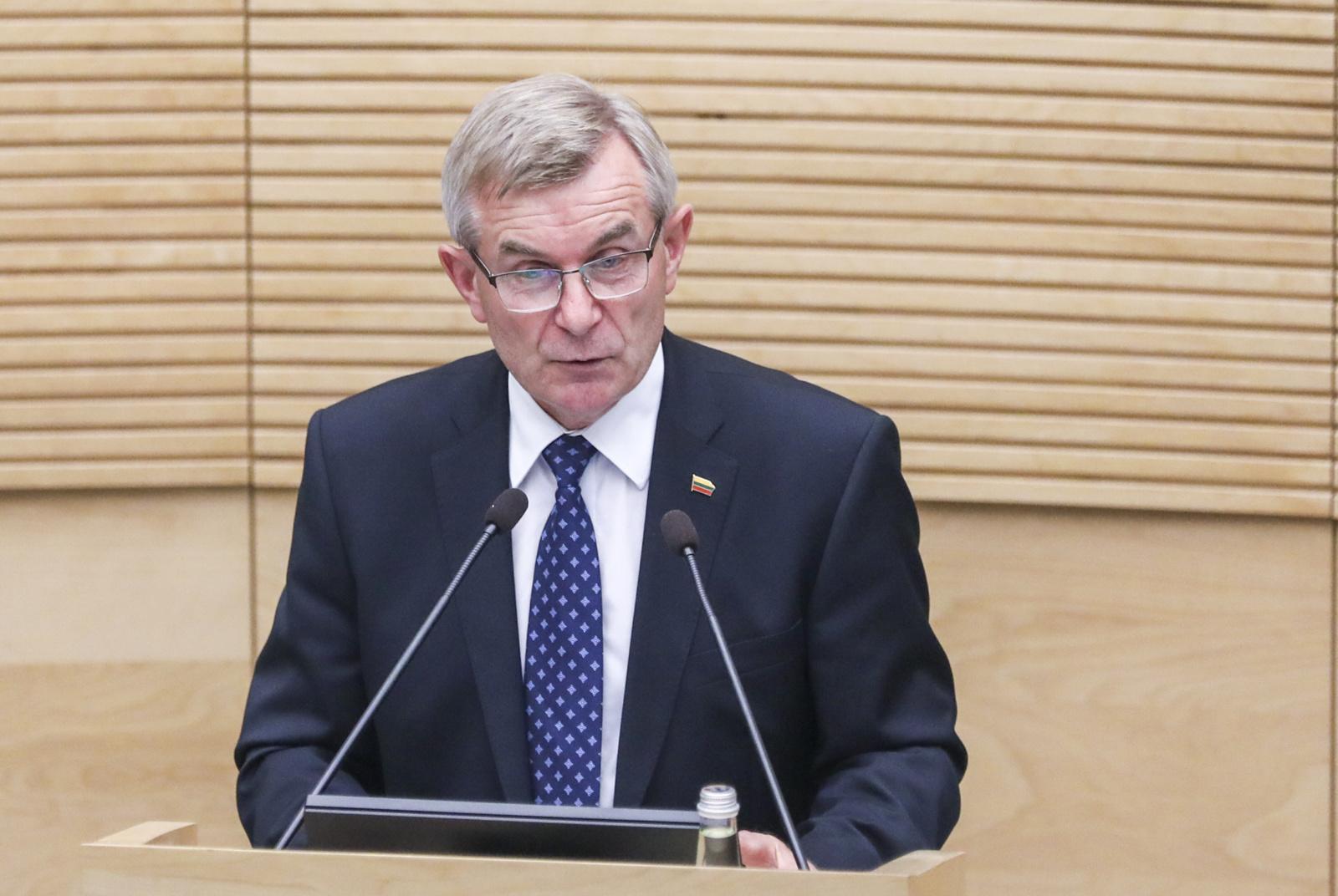 V. Pranckietis Seimo sesijoje tikisi susikalbėjimo