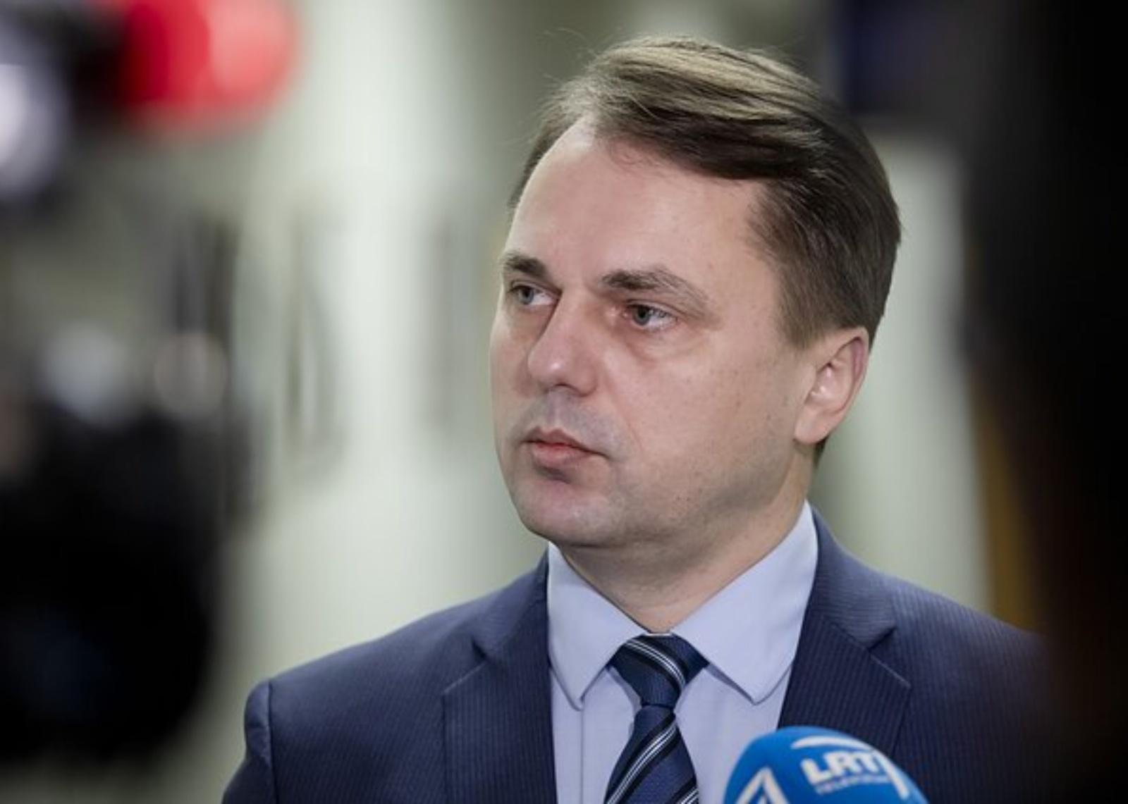 Aplinkos apsaugos departamento vadovui V. Laukiui ministras siūlo trauktis į žemesnes pareigas