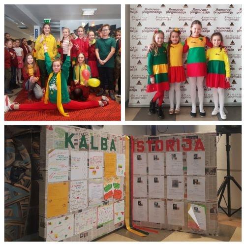 Pilietiškumo ir lietuvių kalbos puoselėjimo diena progimnazijoje