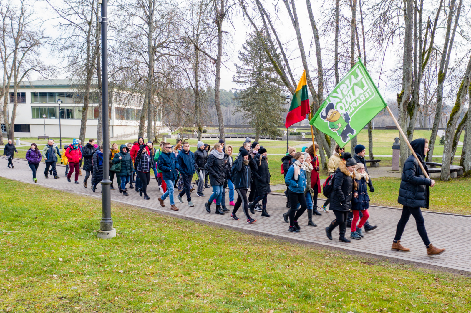 """Vasario 16-ąją organizuotas pėsčiųjų žygis """"Žvėrinčiaus takais"""""""