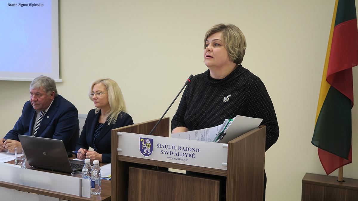 Šiaulių rajono savivaldybės taryba patvirtino išskirtinį šių metų biudžetą ir priėmė svarbių sprendimų
