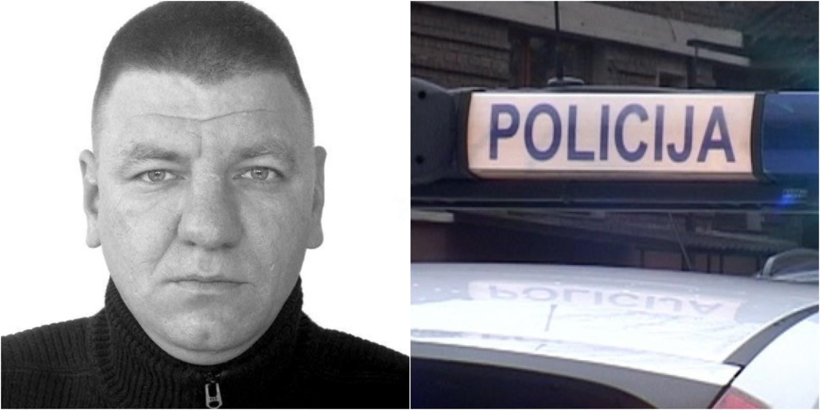 Alytaus policija ieško nužudymu įtariamo vyro