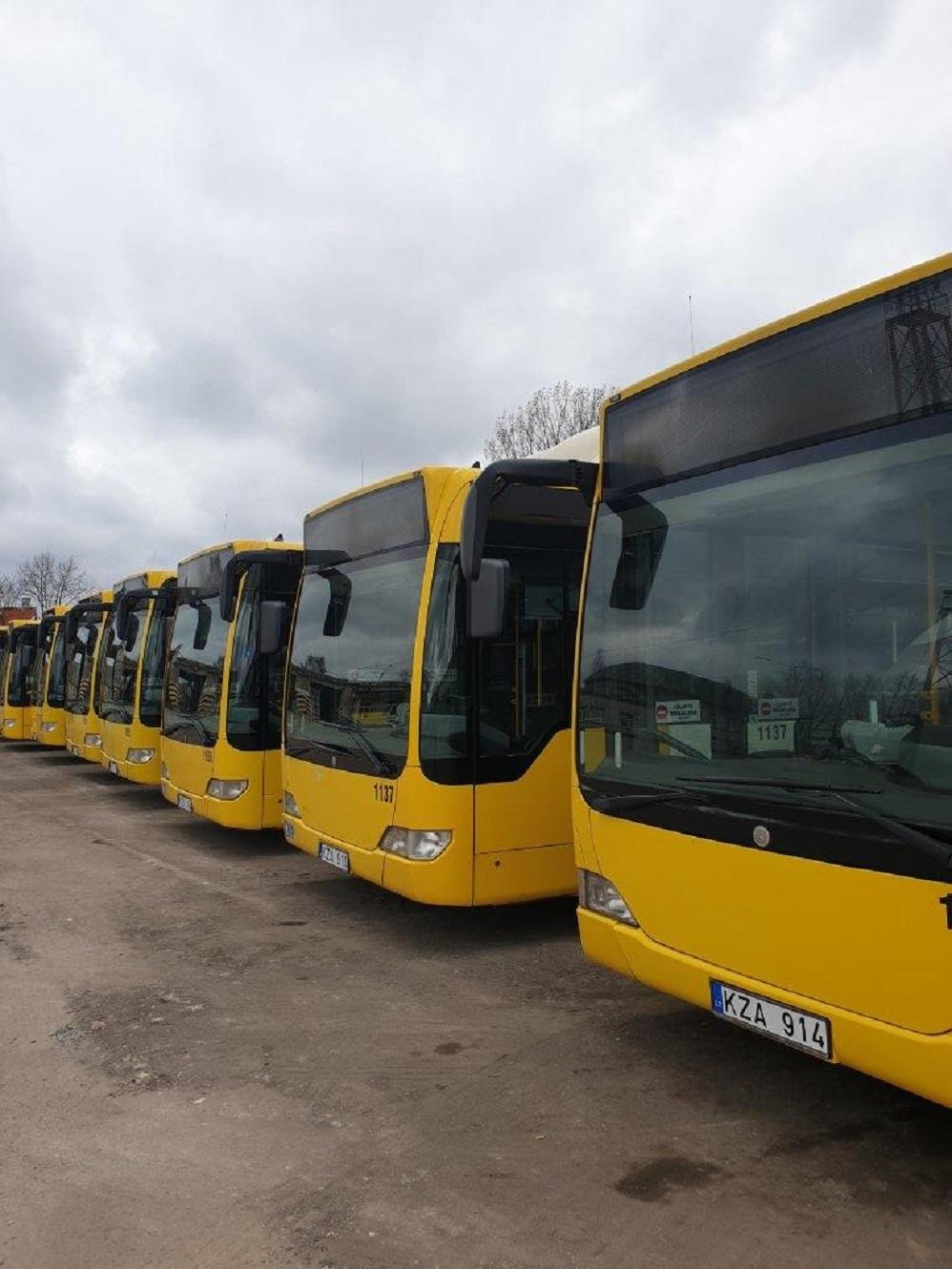Busturo nenaujų autobusų pirkimo iššūkiai