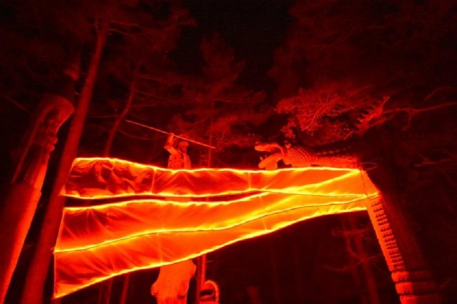 Raganų kalno šviesos  degs dar du savaitgalius (nuotraukų galerija)
