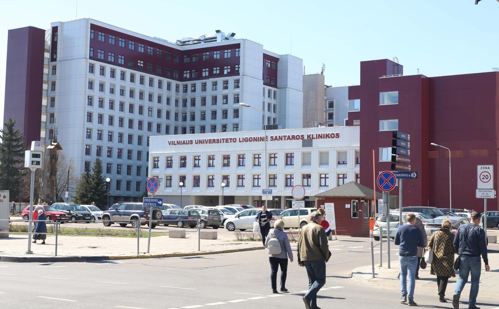 Visi trys nauji koronaviruso atvejai nustatyti Vilniaus sveikatos priežiūros įstaigose