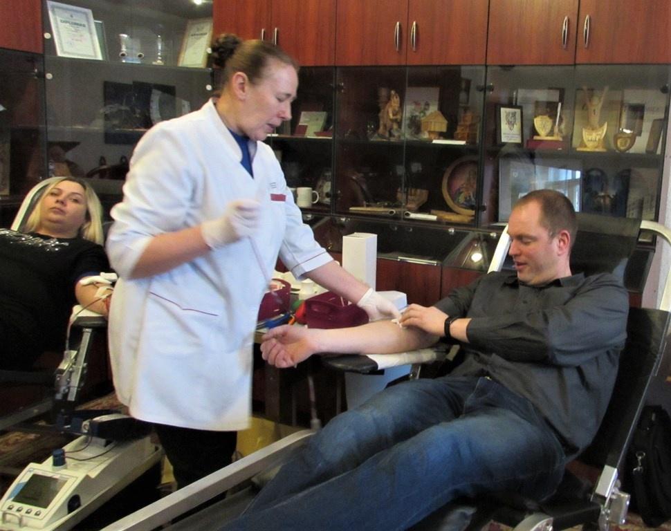 Šiaulių tardymo izoliatoriuje – kilni kraujo donorystės akcija