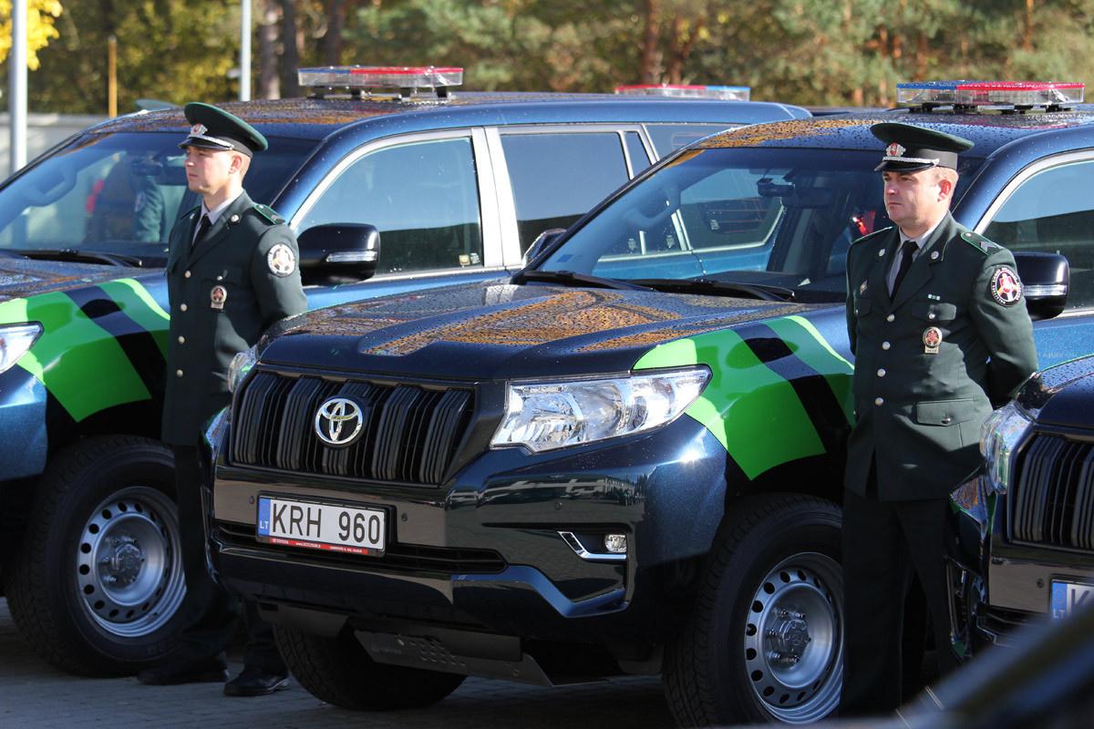 VSAT vadas: pareigūnai budi pasienyje su Lenkija, kreipsimės į valstybės rezervą