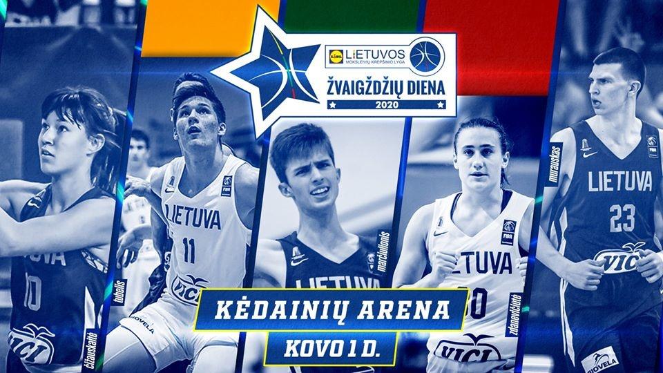 """Kovo 1 dieną Kėdainių arenoje – LIDL–MKL """"Žvaigždžių diena 2020"""""""