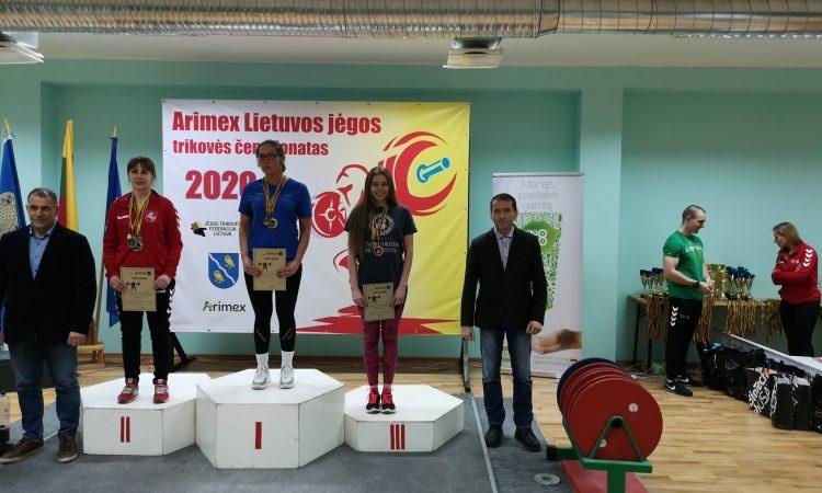 2020 metų sezoną varėniškiai pradėjo šešiais medaliais