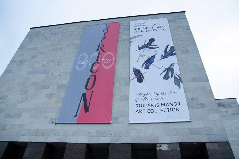 Kauniečiams suteikta galimybė susipažinti su Rokiškio dvaro meno kolekcija