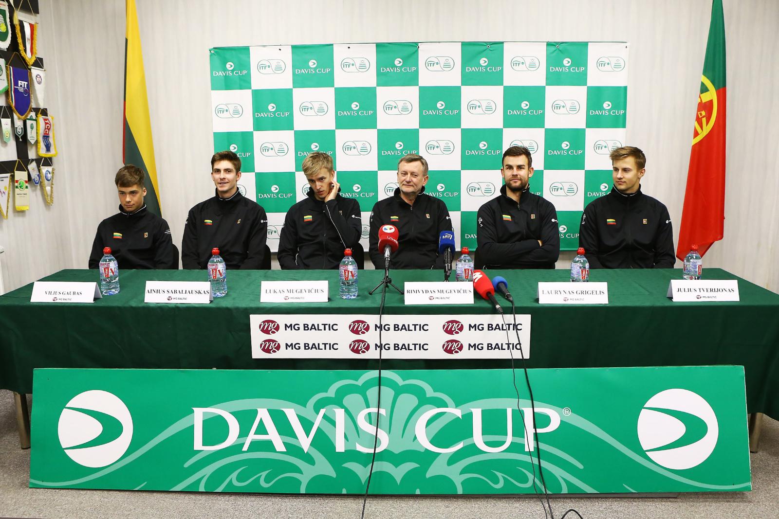 Daviso taurė: lietuviai teigia nesibaiminantys varžovų reitingų