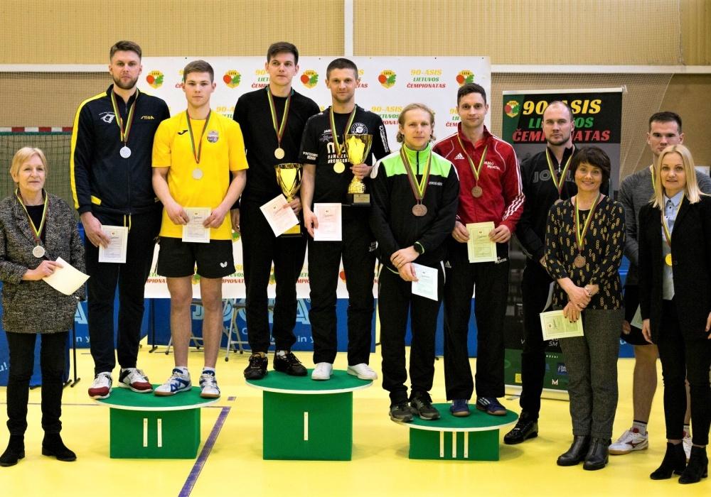 Vilkaviškietis – 2020 metų Lietuvos stalo teniso čempionas
