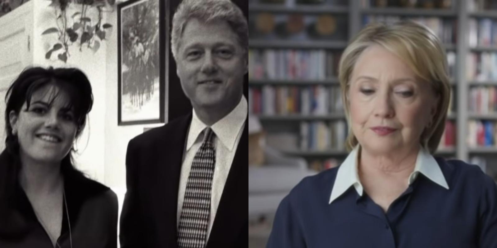 B. ir H. Clintonai prakalbo apie M. Lewinsky skandalą: kas padėjo išlaikyti santuoką?