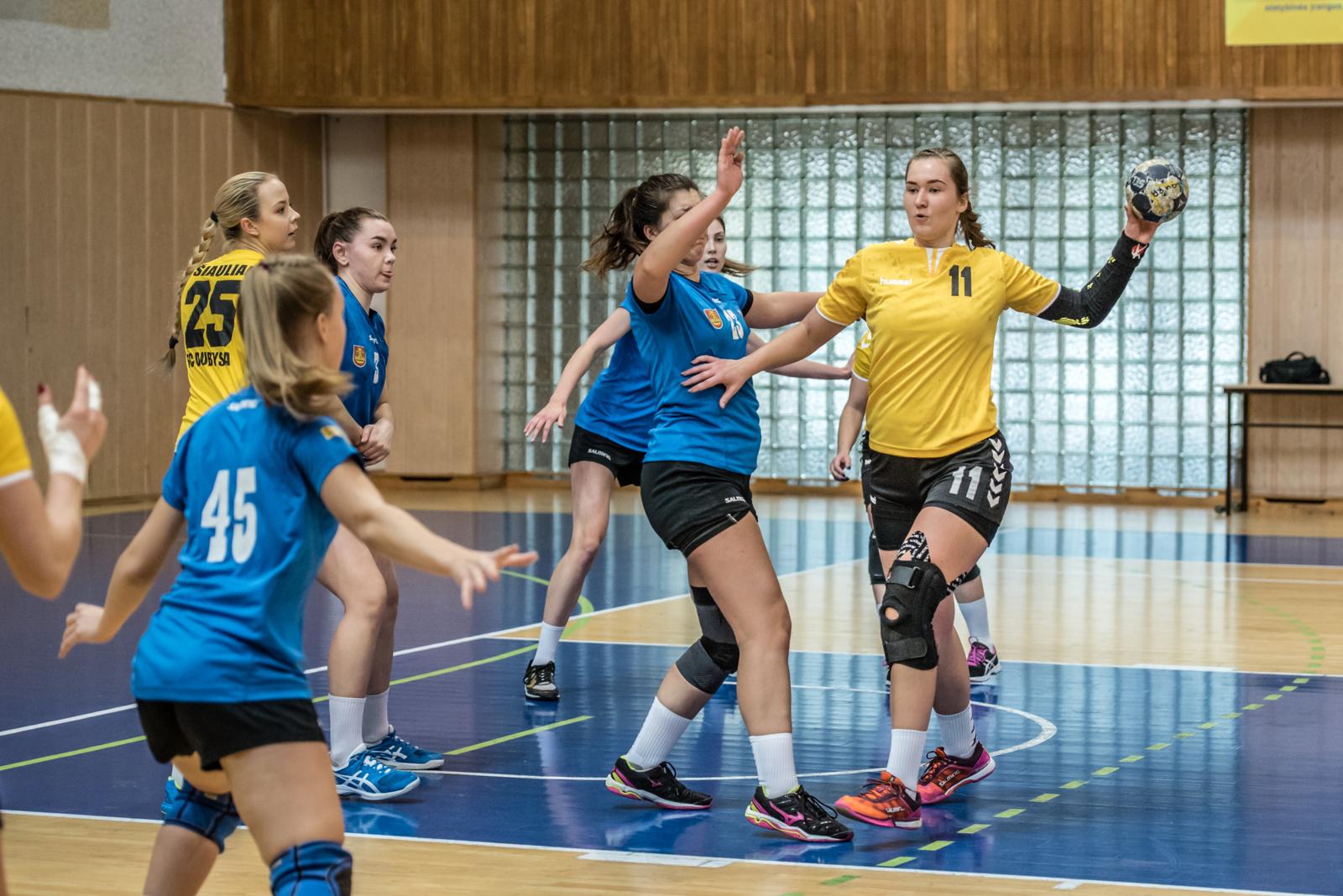 2019–2020 m. Lietuvos moterų rankinio čempionato I-osios lygos finalinės varžybos