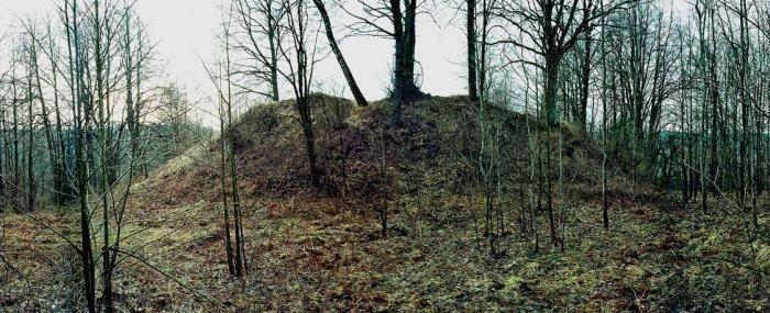 Ukmergės rajone keturračiai suniokojo piliakalnį