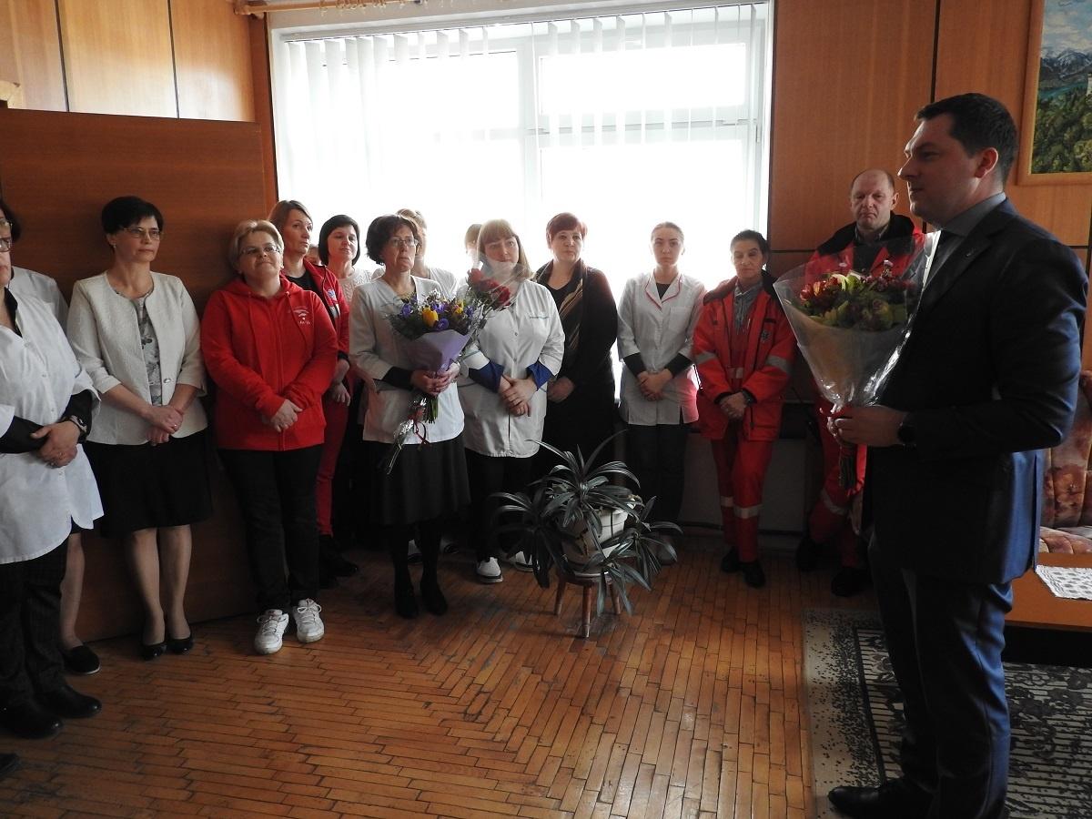 Darbą pradėjo Ignalinos rajono poliklinikos direktorius