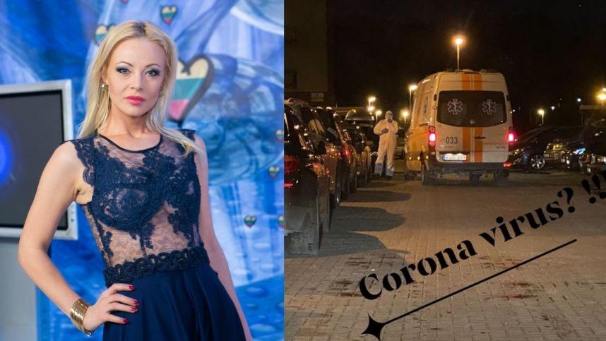 Iš Mios namo greitoji išvežė kelis kaimynus: įtaria koronavirusą