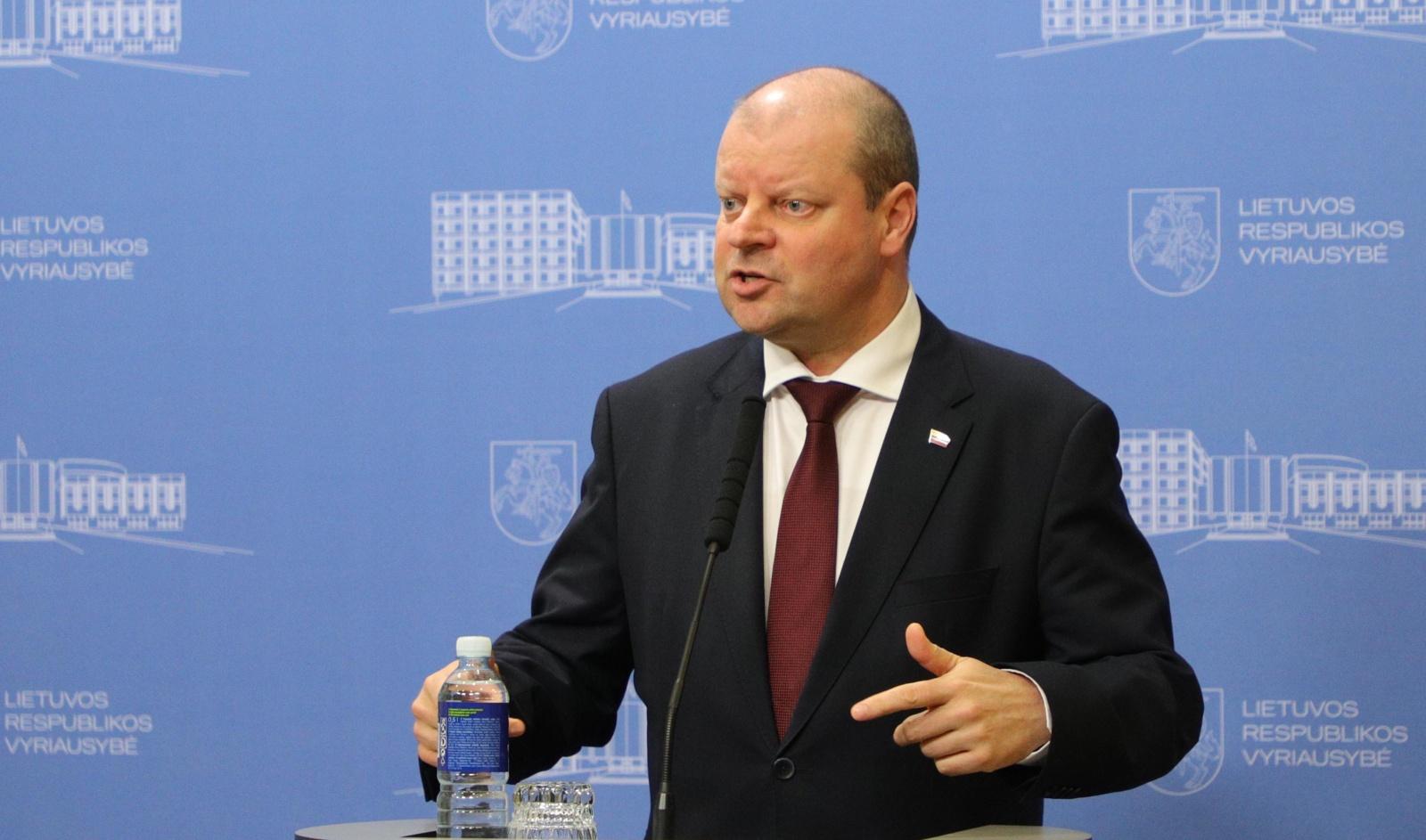 Vyriausybė atvėrė galimybę reguliuoti kainas, sako premjeras