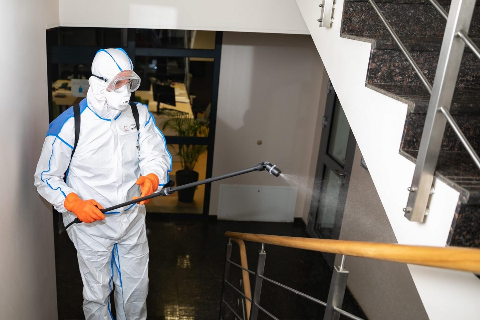 Informacija dėl daugiabučių namų laiptinių dezinfekavimo Joniškyje