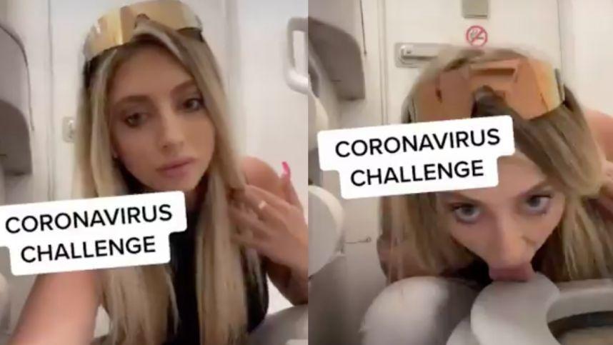 """Merginos """"koronaviruso iššūkis"""" socialiniuose tinkluose sulaukė pasipiktinimo"""